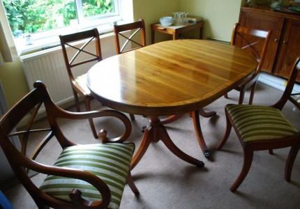 Dining table chairs for sale