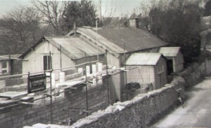 Box new Church c1951from road