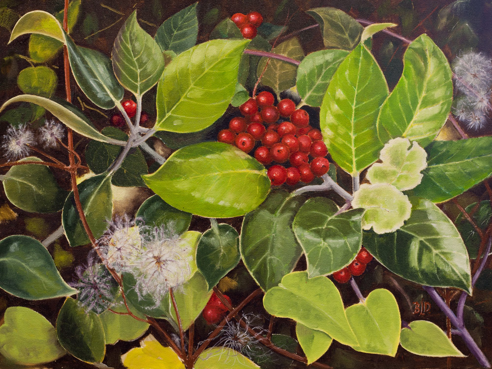 Hedgerow – Oil