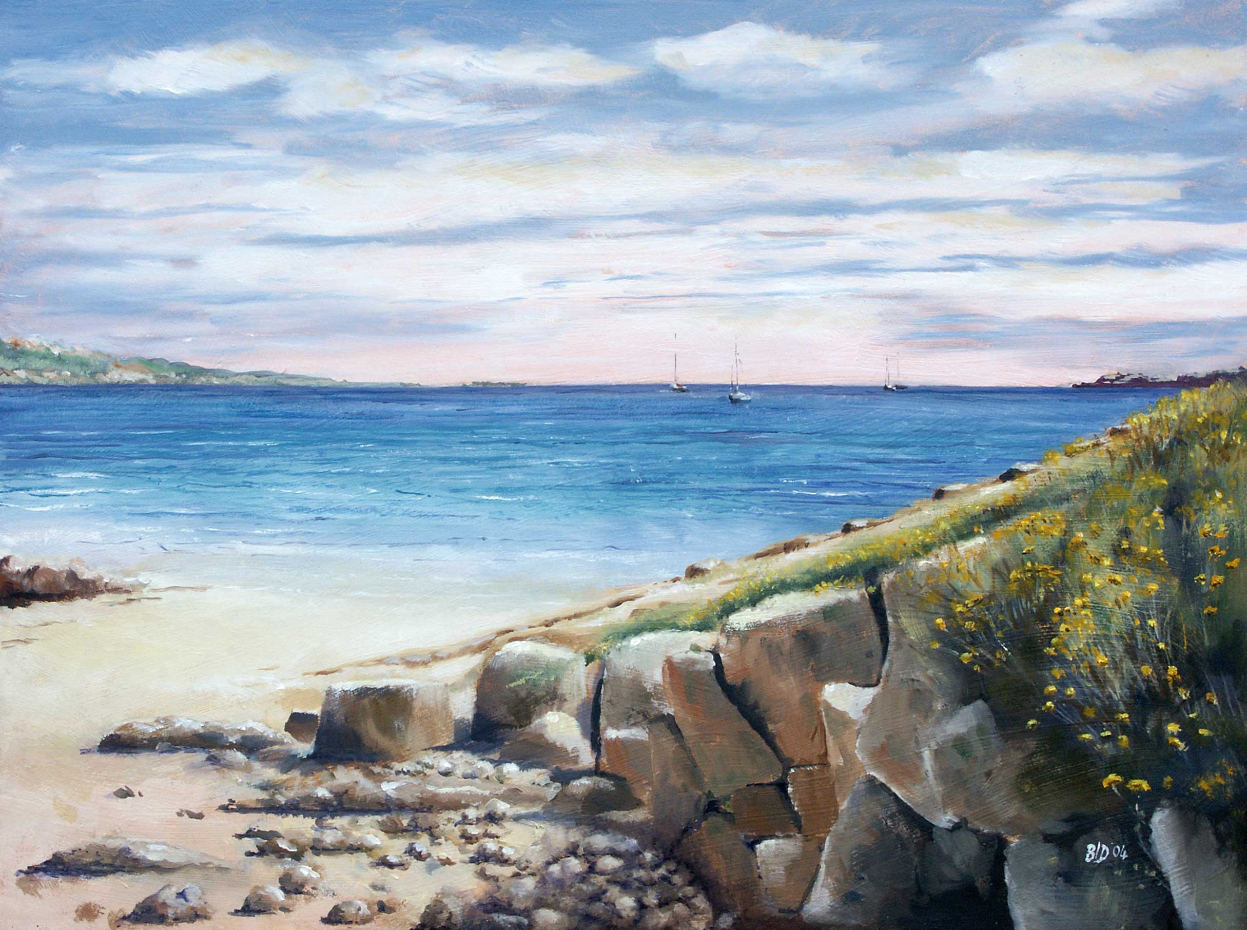 St Brides Bay – oil