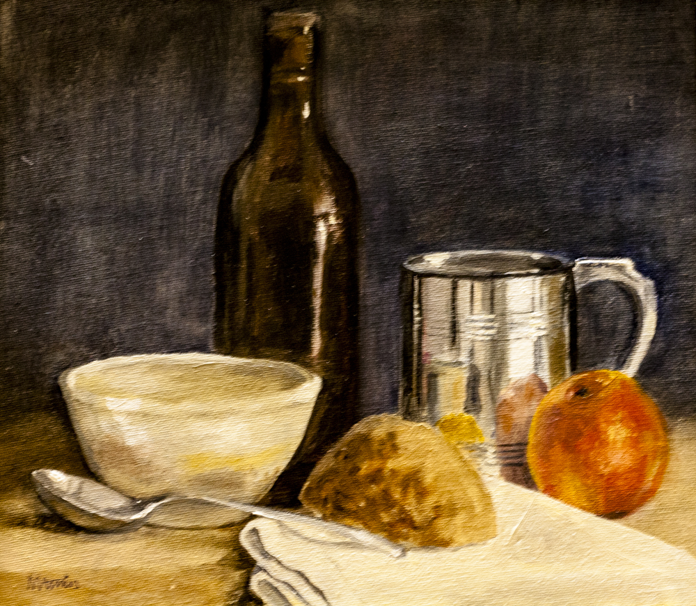 Country lunch – Oil