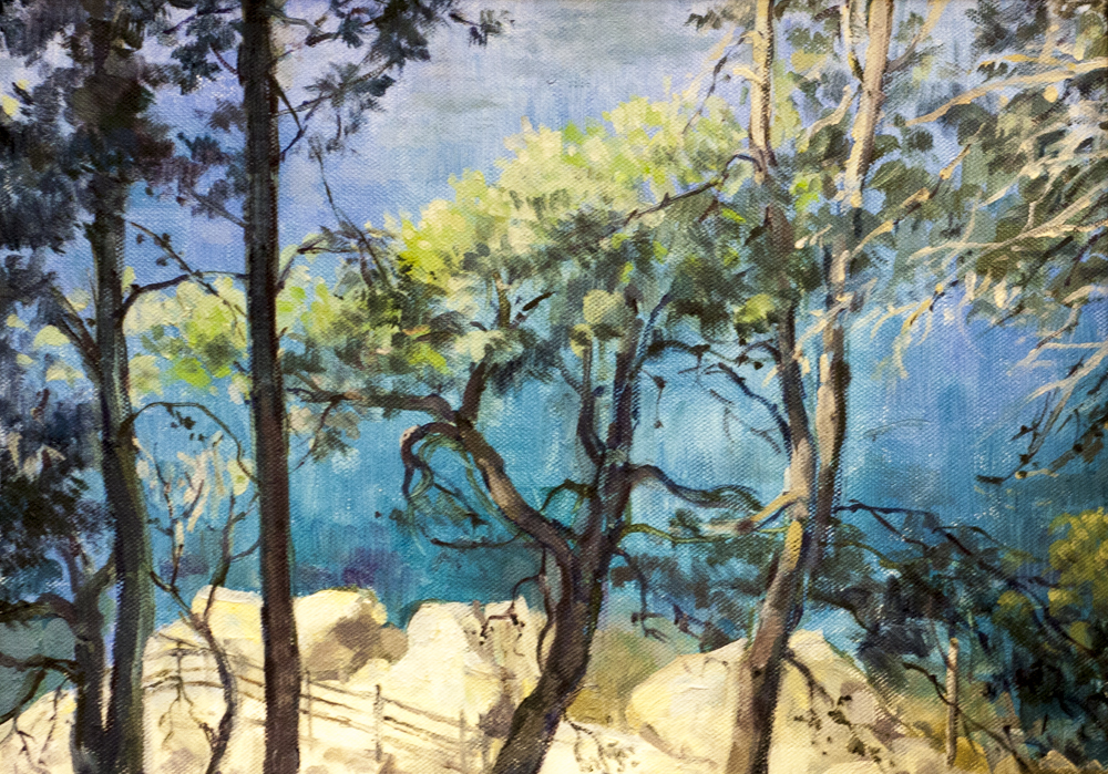 Mallorcan coast – Oil