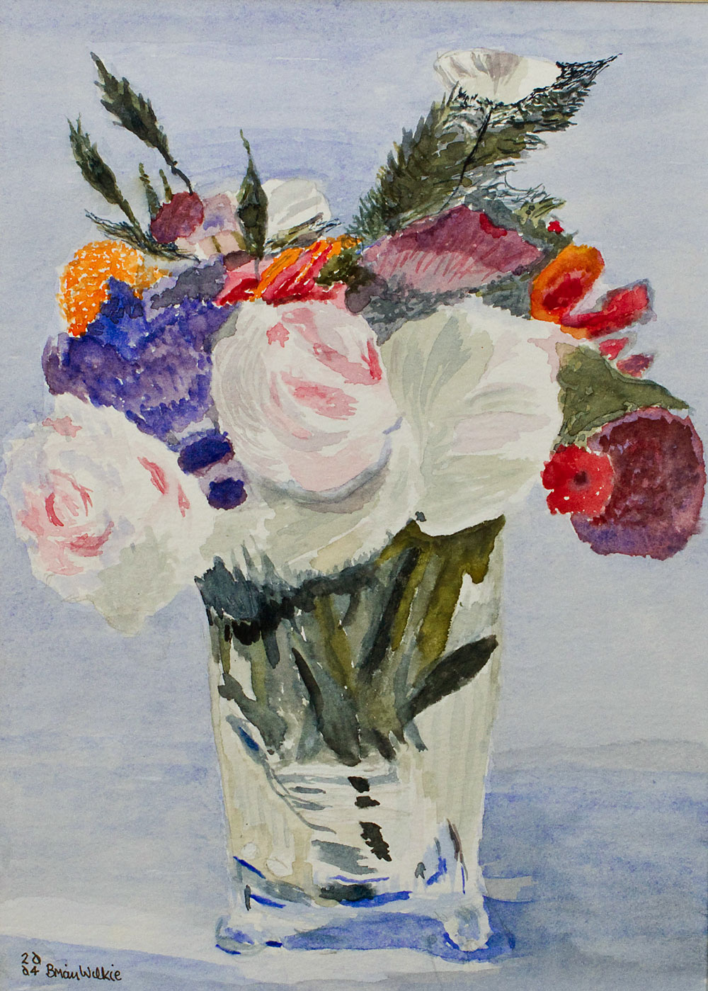 Bouquet & Vase