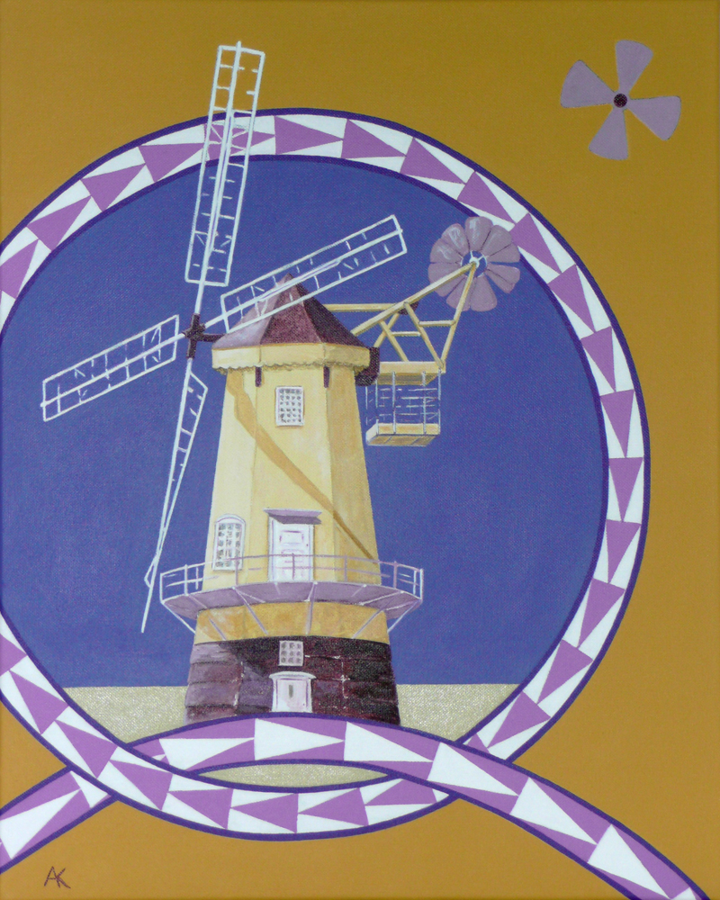 Windmill – acrylic