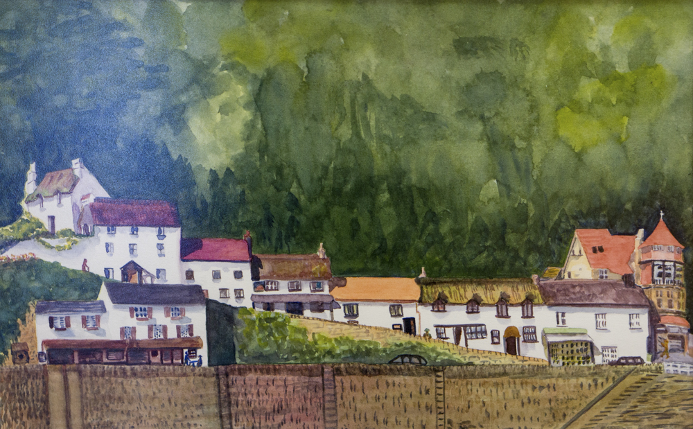 Lynmouth – Pastel
