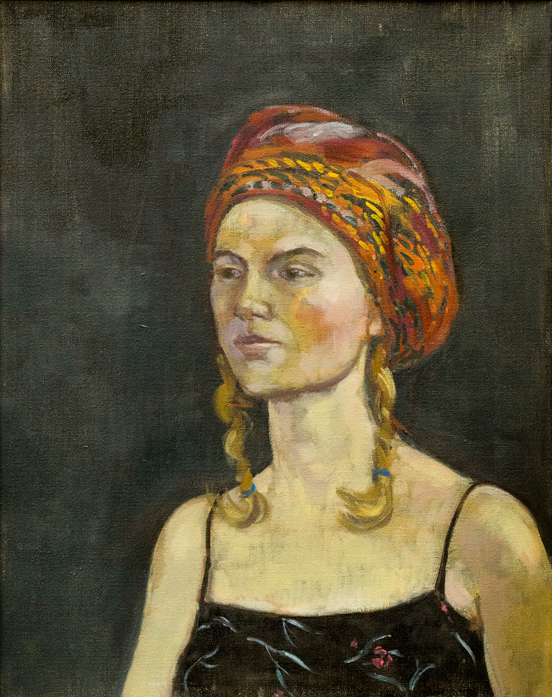 Portrait of Marcia – Oil – For sale.
