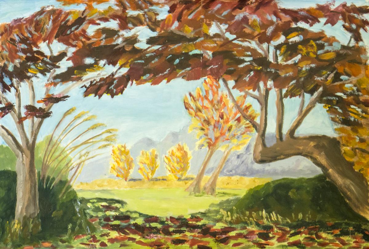 Autumn leaves – Oil